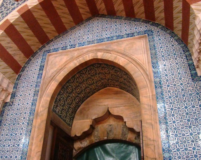 Rüstem Paşa Camii İçi