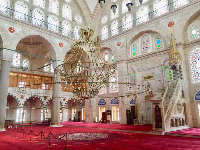 Edirnekapı Mihrimah Sultan Camii mimari özellikleri