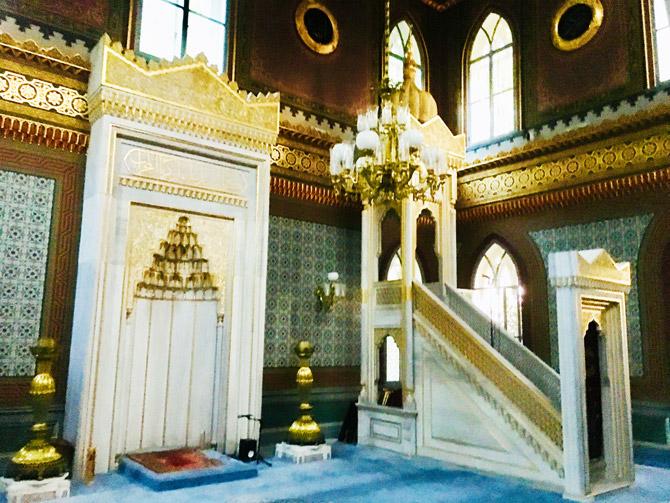 Yıldız Hamidiye Camii Nerede