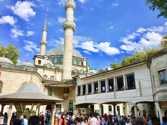 Eyüp Sultan Camii Hakkında Bilgi